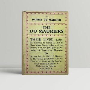 daphne du maurier the du mauriers first uk edition 1937