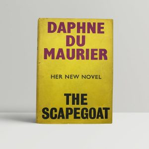 daphne du maurier the scapegoat first uk edition 1957 9870