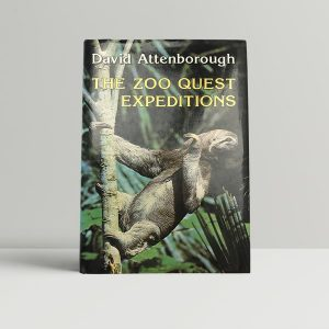 david attenborough the zoo quest expeditions first uk edition 1980 signed