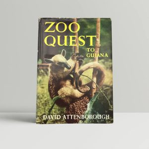 david attenborough zoo quest in guiana first uk edition 1956