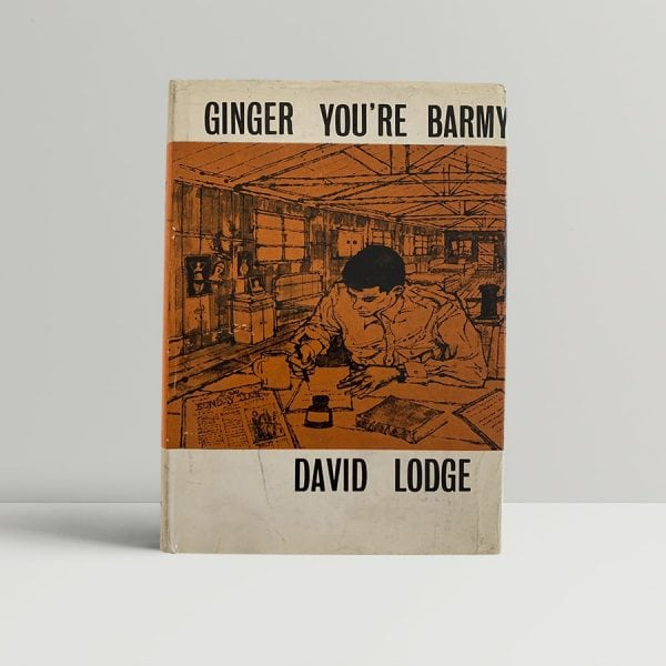 david lodge ginger youre barmy first uk edition 1962