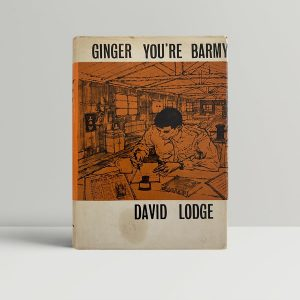 david lodge ginger youre barmy first uk edition 1962 signed