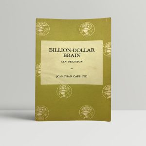 deighton len billion dollar brain first uk edition 1966 proof