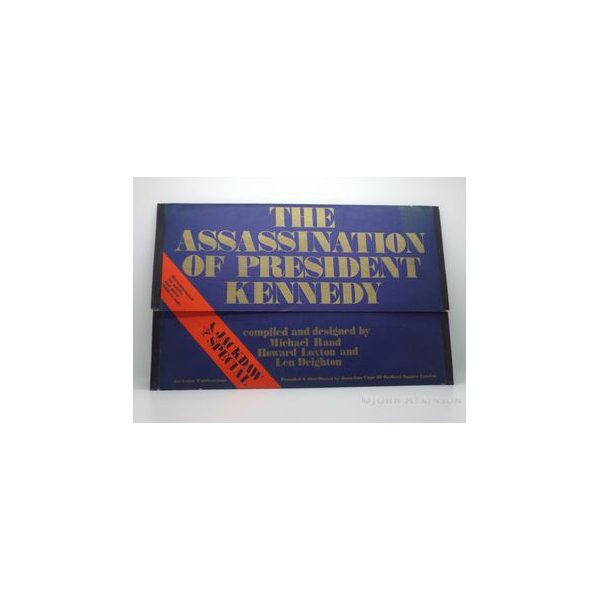 deighton len the assassination of president kennedy first uk folder 1