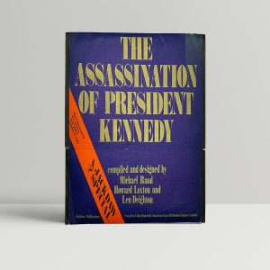 deighton len the assassination of president kennedy first uk folder