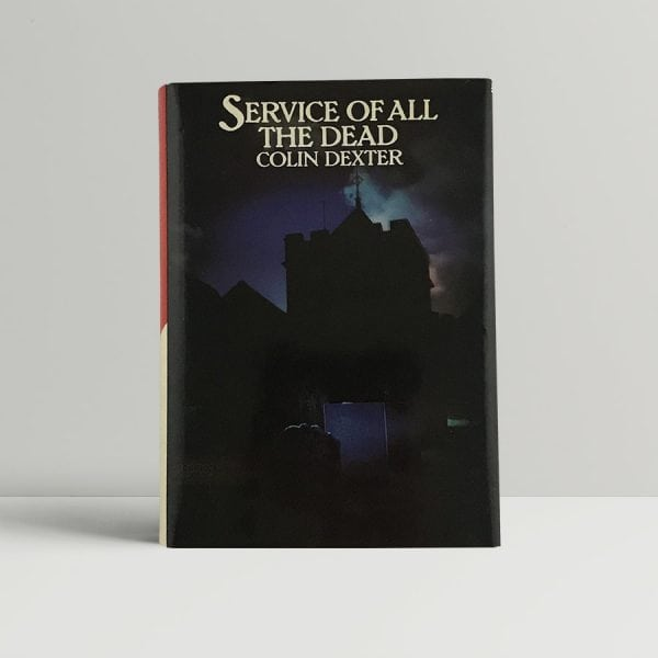 dexter colin service of all the dead 1st uk edition signed