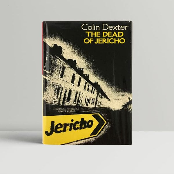 dexter colin the dead of jericho first uk edition 1981