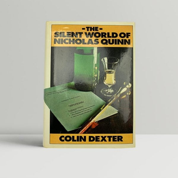 dexter colin the silent world of nicholas quinn first uk edition 1977