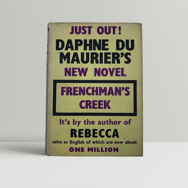 du maurier daphne frenchmans creek first uk edition