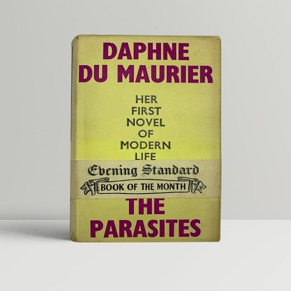 du maurier daphne the parasites first uk edition signed