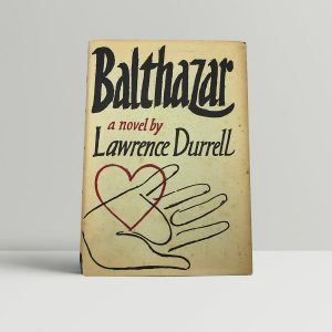 durrell lawrence balthazar uk edition signed
