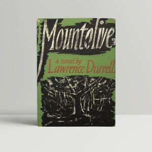 durrell lawrence mountolive uk edition signed 1958