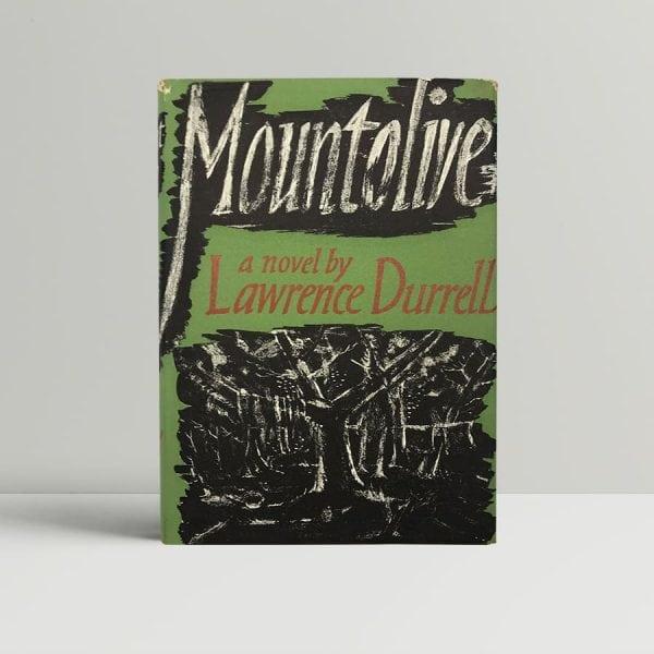 durrell lawrence mountolive uk edition signed 1958