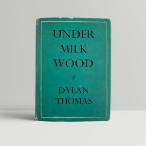 dylan thomas under milk wood first uk edition 1954 11504