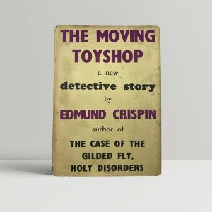 edmund crispin the moving toyshop first uk edition 1946