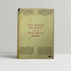 elizabeth bowen the house in paris first uk edition 1935