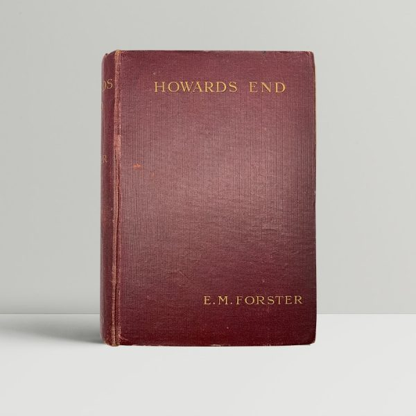 em forster howards end first uk edition 1910