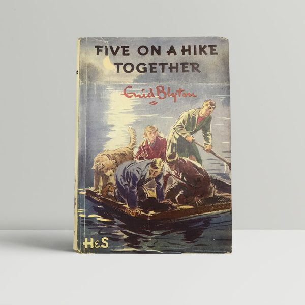 enid blyton five on a hike together first uk edition 1951 2