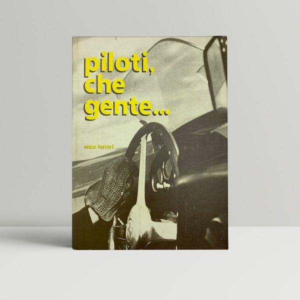 enzo ferrari piloti che gente first edition 1983 signed