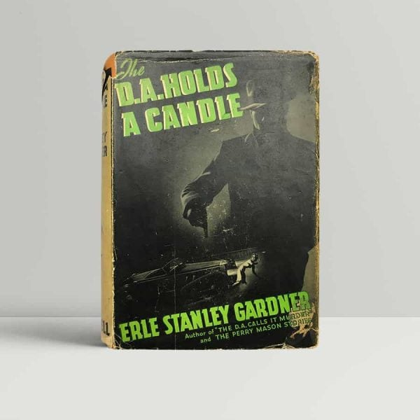 erle stanley gardner the d a holds a candle first uk edition 1939