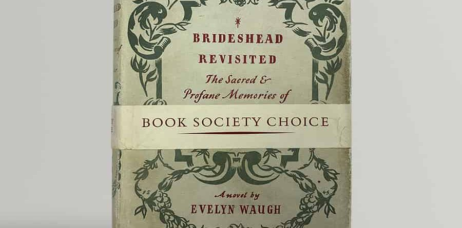 evelyn waugh brideshead revisited first uk edition with band 1945