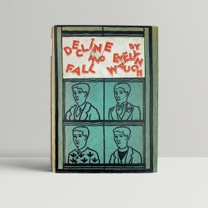 evelyn waugh decline and fall first uk edition 1928