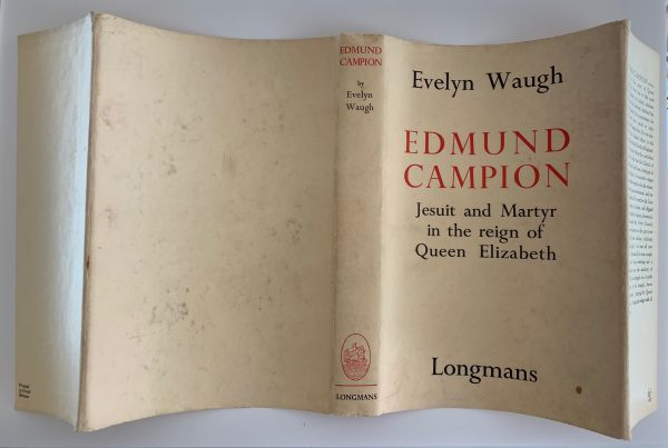 evelyn waugh edmund campion first uk edition 1935 img 8503