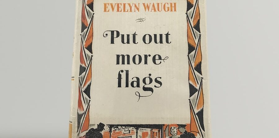 evelyn waugh put out more flags first uk edition 1942