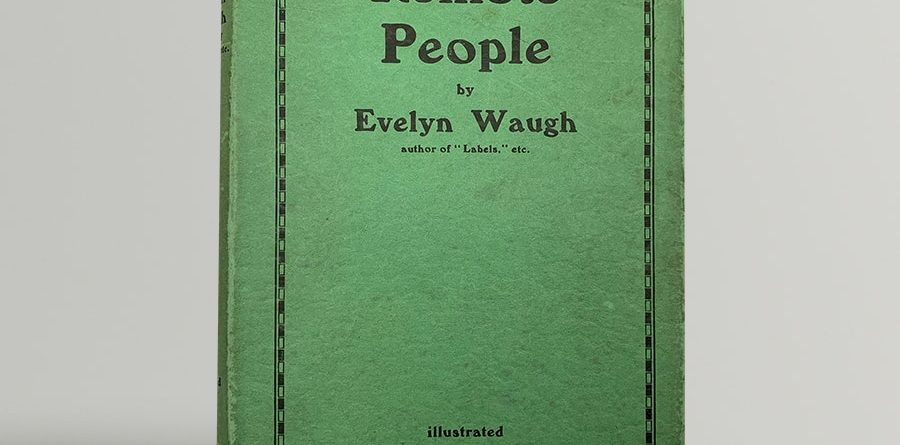 evelyn waugh remote people first uk edition 1931