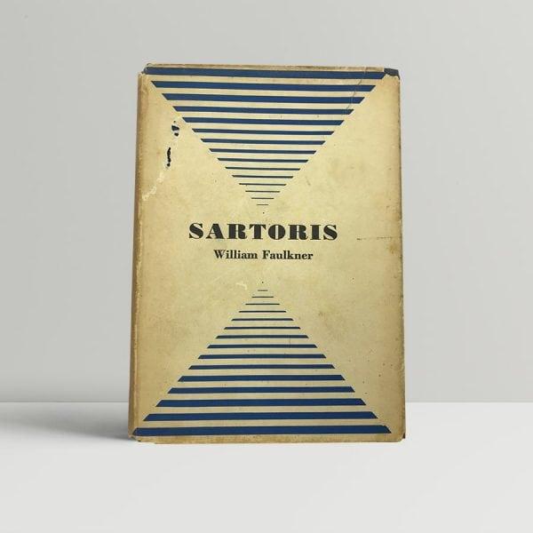 faulkner william sartoris first uk edition 1932