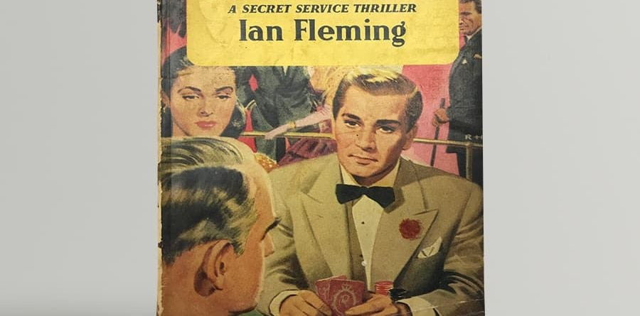 fleming ian casino royale first uk paperback edition 1955