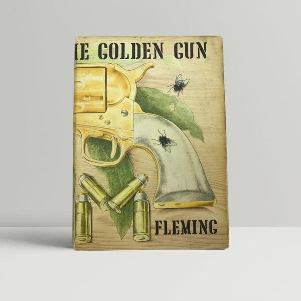 fleming ian the man with the golden gun first uk edition signed