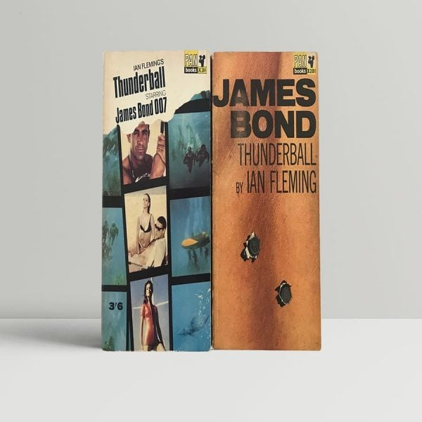 fleming ian thunderball with domino letter 1965