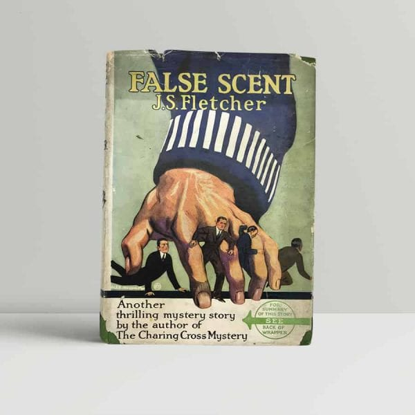 fletcher j s false scent first uk edition 1924