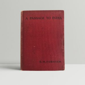 forster e m a passage to india first uk edition 1924