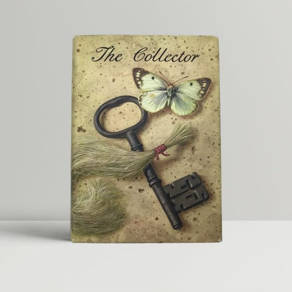 fowles john the collector first uk edition signed