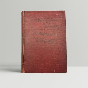 g k chesterton the man who was thursday first uk edition 1908