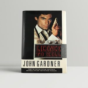 gardner john ian fleming licence to kill first uk edition 1990