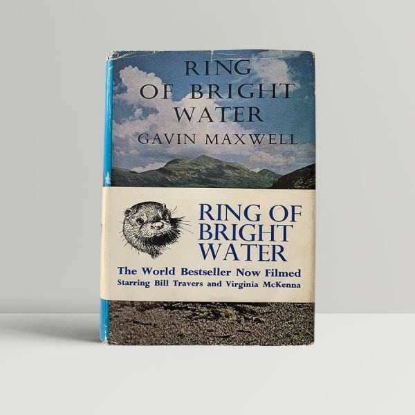 gavin maxwell ring of bright water first uk edition 1960 with the rare band
