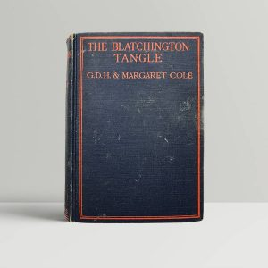 gdh and margaret cole the blatchington tangle first uk edition 1926