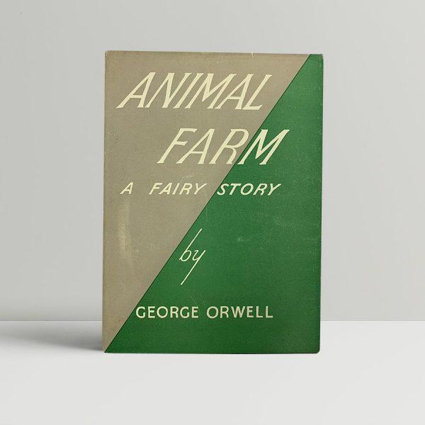 george orwell animal farm first uk edition 1945 2