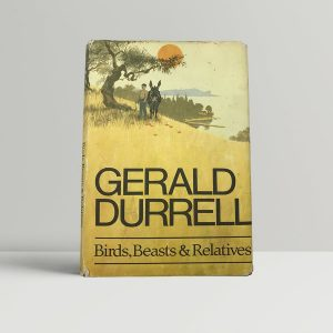 gerald durrell birds beasts and relatives first uk edition 1969