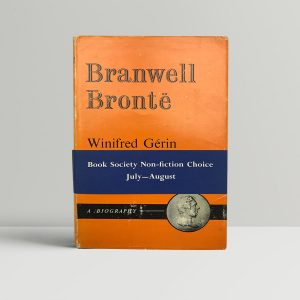 gerin winifrid bramwell bronte first uk edition 1961 with band and signed