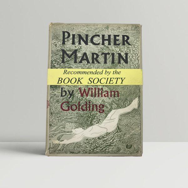 golding william pincher martin first uk edition 1956