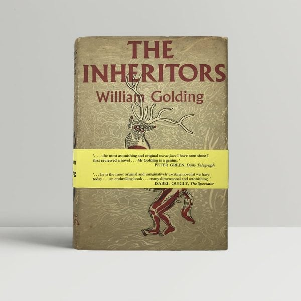 golding william the inheritors first uk edition 1955