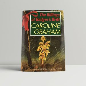 graham caroline the killing at badgers drift first uk edition 1987