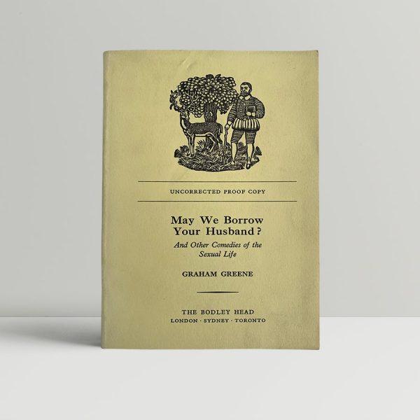 graham greene may we borrow your husband proof 1967 img 8671 2