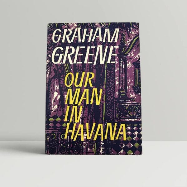 graham greene our man in havana first uk edition 1958 2