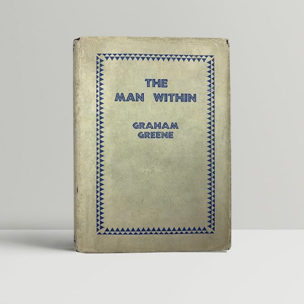 graham greene the man within first uk edition signed