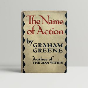graham greene the name of action first uk edition 1930